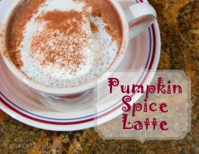 Pumpkin Spice Latte - Easy