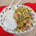 Fish with Chinese Celery – Pla Pad Keun Chai