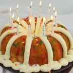 Confetti Birthday Bundt Cake #BundtBakers