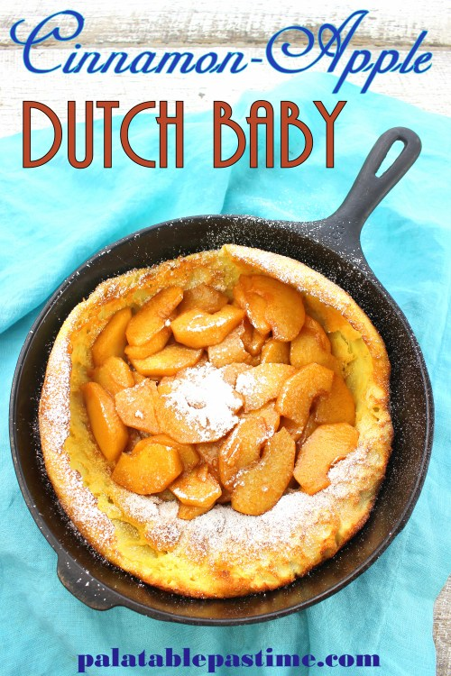 Cinnamon-Apple Dutch Baby
