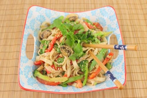 Vietnamese Sesame Noodles