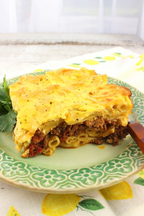 Macaroni Bechamel