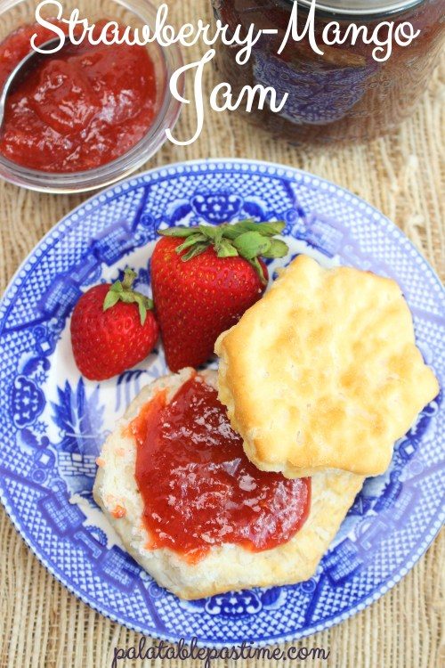 Strawberry Mango Jam