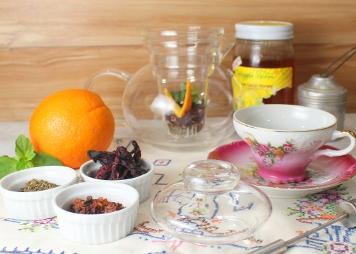 Mrs. Mango's Hibiscus Flower Tea Ingredients