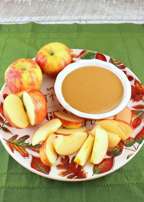 Warm Caramel Apple Dip