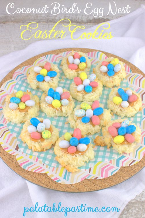 Easter Coconut Bird's Egg Nests