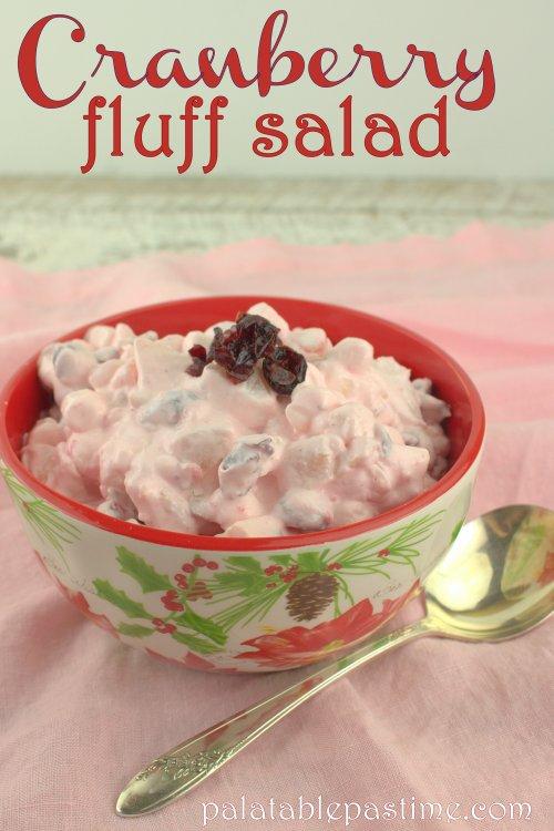 Cranberry Fluff Salad