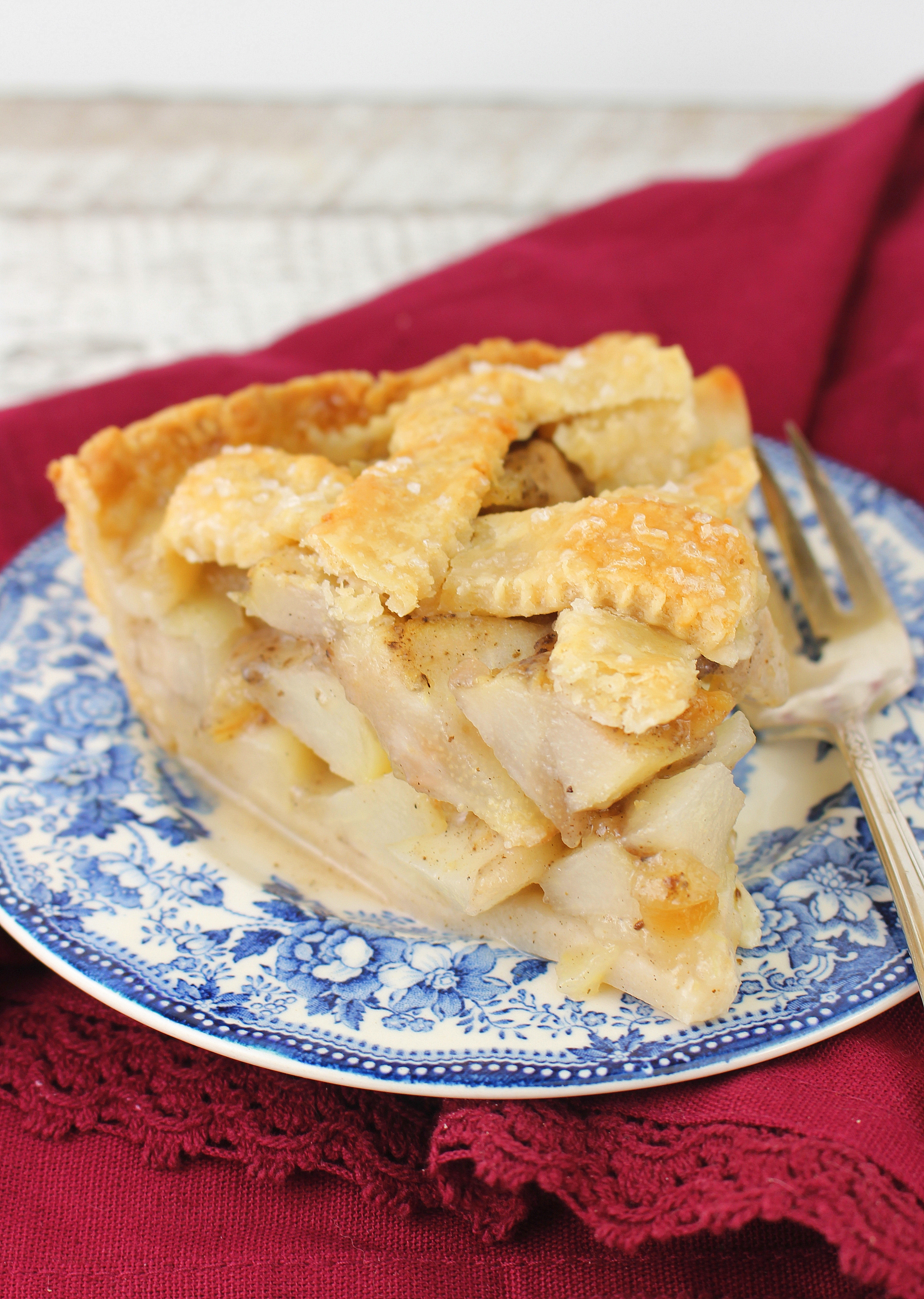 Gingered Pear Pie #BakingBloggers