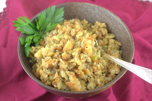 Gluten Free Thanksgiving Stuffing or Dressing