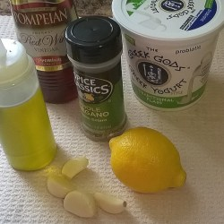 Chicken Marinade Ingredients