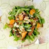 Garden Salad with Orange-Dijon Vinaigrette