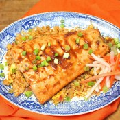 Ginger-Citrus Grilled Salmon