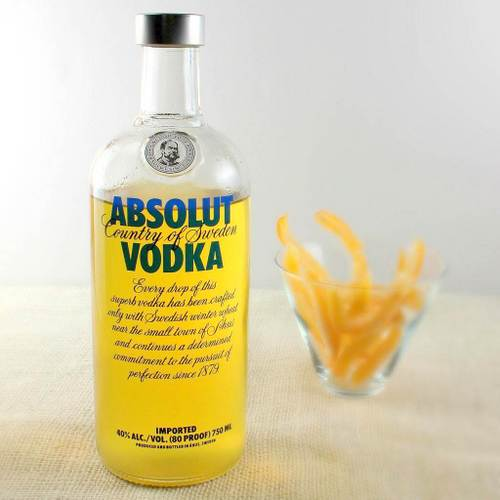 Homemade Citron Vodka