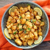 Moroccan Harissa Potatoes