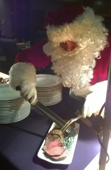 Santa loves a tenderloin
