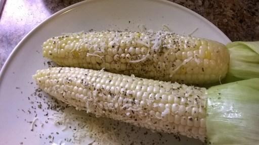Prosciutto Grilled Corn
