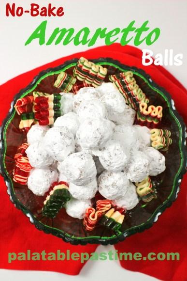 Amaretto Balls