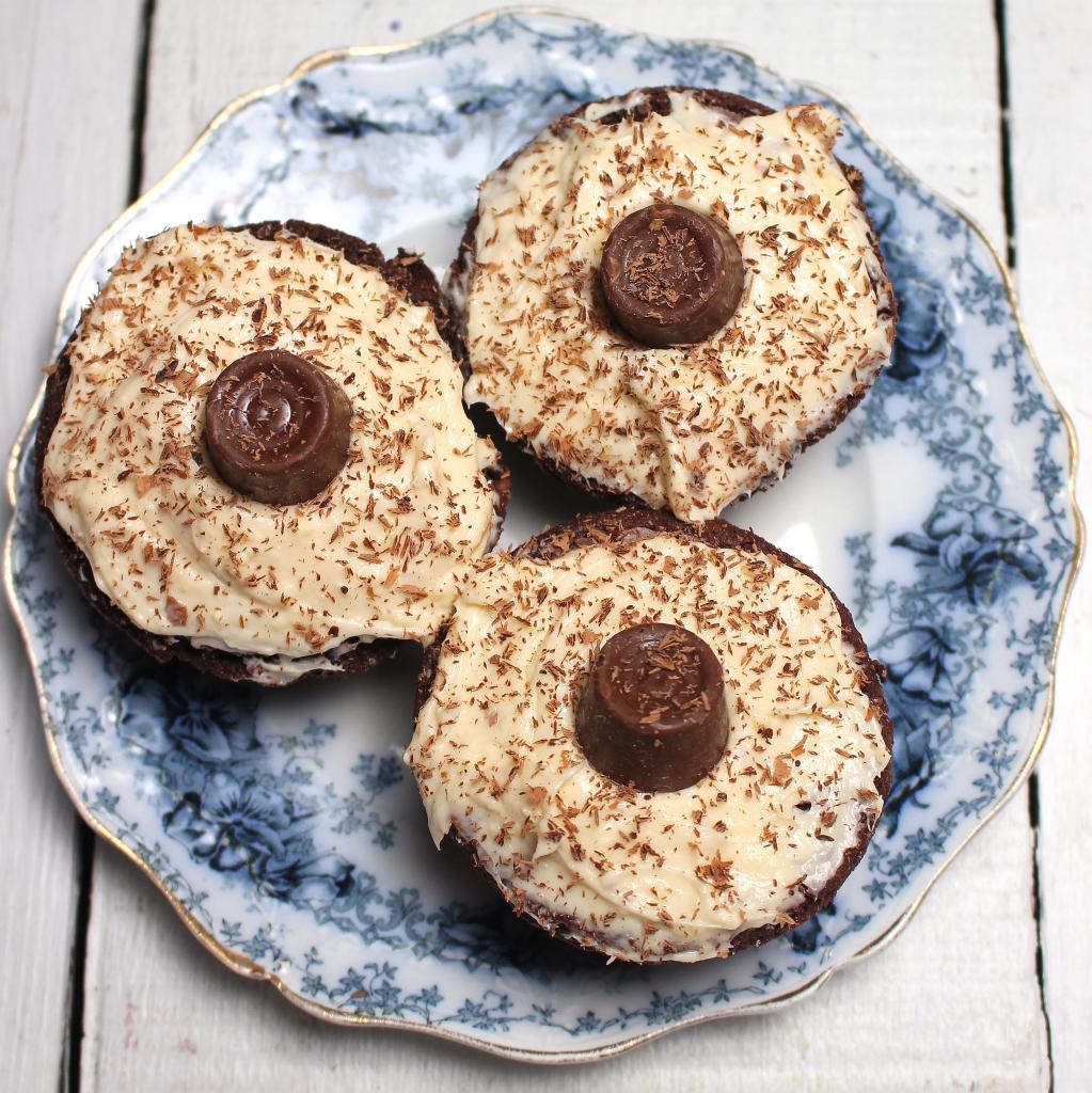 Caramel Car Bomb Brownies