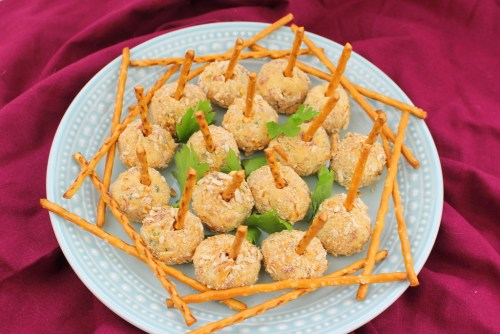 Cheese Ball Pops