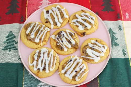 Chestnut Praline Latte Cookies