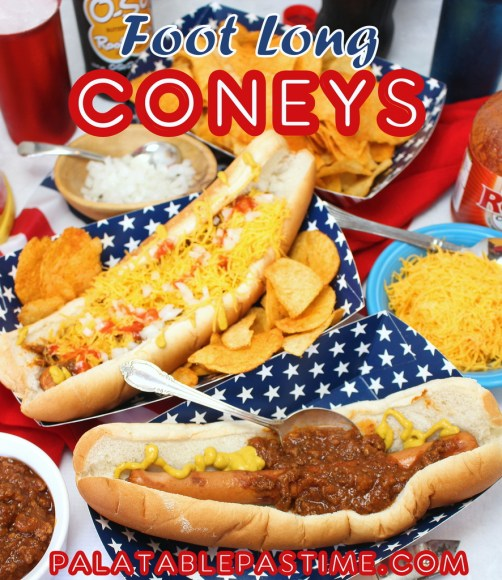 Footlong Coney Sauce