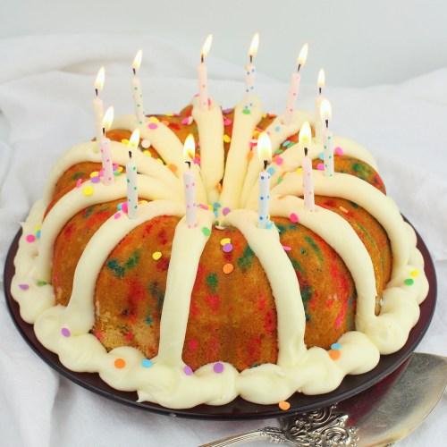 Confetti Birthday Bundt Cake