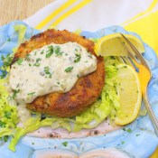 Crab Cakes with Tartar Sauce