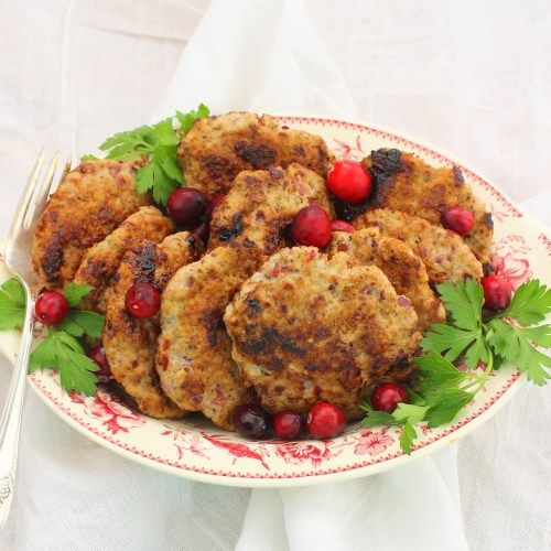 Cranberry-Sage Breakfast Sausage