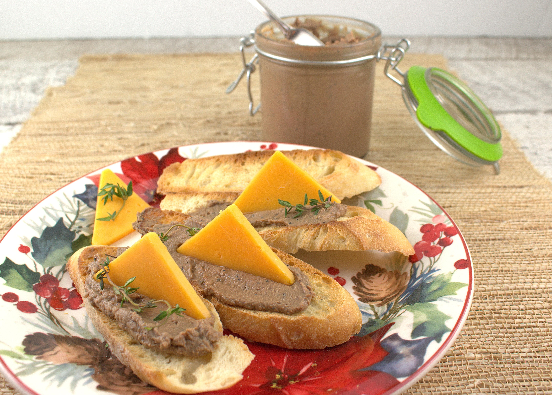 easy chicken liver p t for sundaysupper