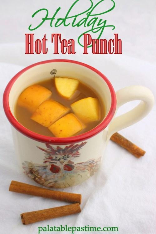 Holiday Hot Tea Punch