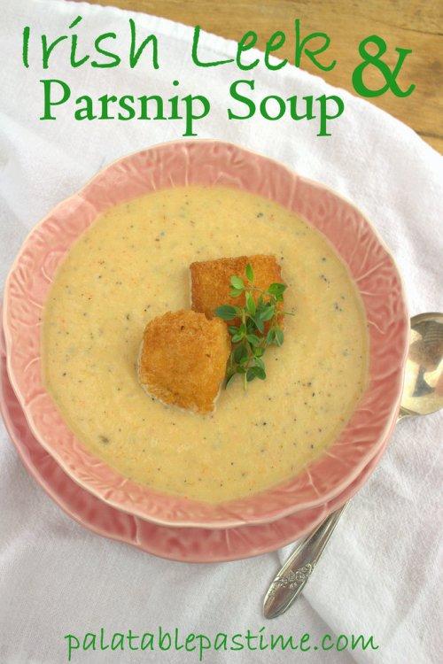 Irish Leek and Parsnip Soup