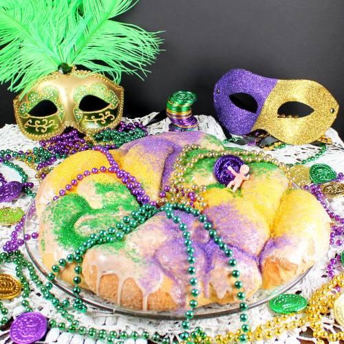 Mardis Gras Kings Cake