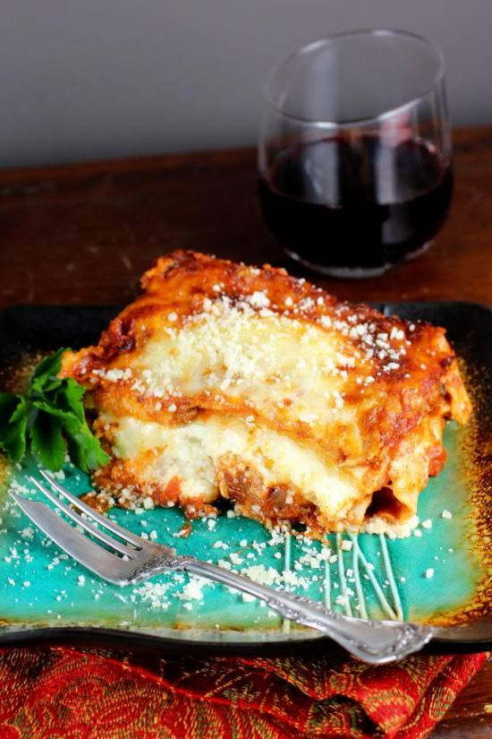 Lasagne for Two