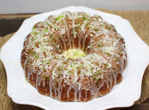 Lime Coconut Bundt Cake
