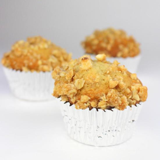 Peanut Butter Banana Nut Road Trip Muffins