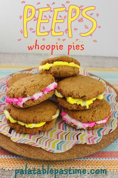 Peeps Whoopie Pies