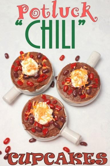Potluck Chili Cupcakes #SundaySupper