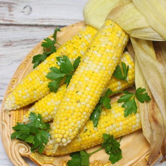 Ranch Corn on the Cob