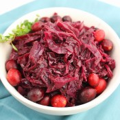 Red Cabbage with Cranberry