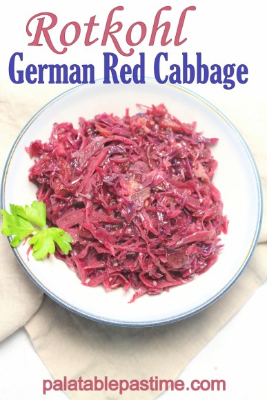 Rotkohl - German Red Cabbage