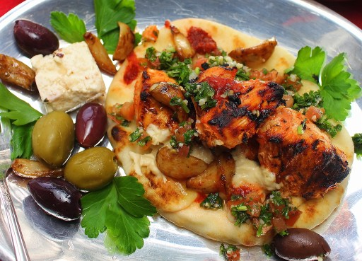 Grilled Chicken Shish Tawook