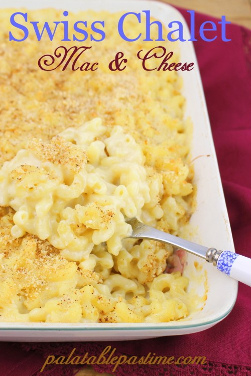 Swiss Chalet Mac and Cheese