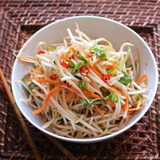 Thai bean sprout salad thai bean sprout salad solutioingenieria Image collections