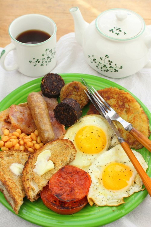 Ulster Fry Full Irish Breakfast