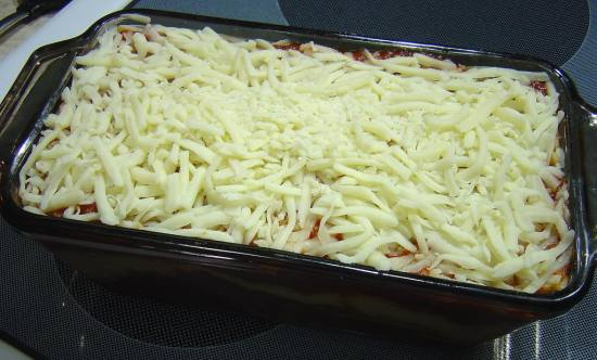 unbaked lasagne