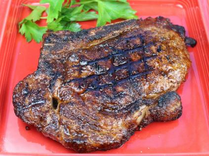 Espresso Rubbed Grilled Steak