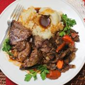Crock Pot Pot Roast with Guinness