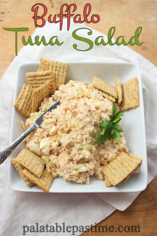 Buffalo Tuna Salad