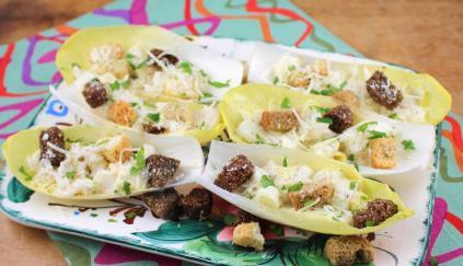 Caesar Salad Boats