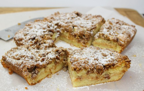 Cinnamon Coffee Cake (Kaffee Kuchen)